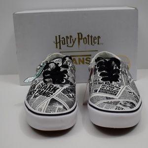 Harry Potter Daily Prophet Vans- NWT!